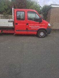 Renault master crewcab not tipper, cheap van bargain . Van