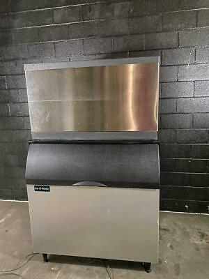 Scotsman Cme1356rs-32f 1300 Lb Ice Machine With 1000 Lb Bin