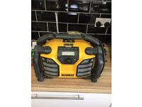 Dewalt dcr017 Dab/fm site radio and batt charger
