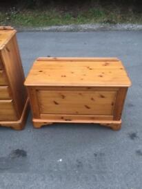 Ducal pine style blanket box * free furniture delivery *