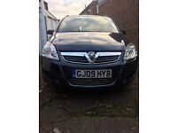 Vauxhall zafira 62000 mileage, Immaculate condition, low mileage, scratchless car, good family car