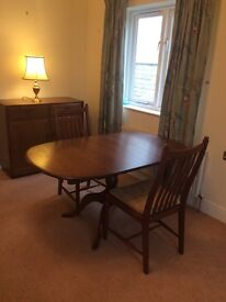 Dining Table & 2 Chairs - Ercol