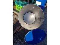 40 gall Blue Steel Barrels