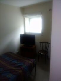 Small double bedroom suitable for single occupation.