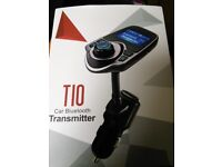 Brand-new T10 Bluetooth Car Transmitter