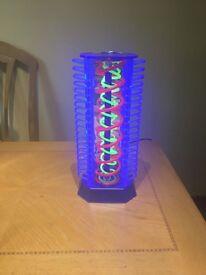 Light up CD rack