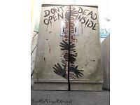 The Walking Dead handpainted vintage tallboy wardrobe delivery Available