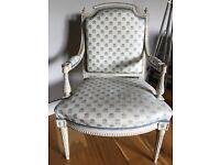 Pair of Antique Painted Louis XVI Style Chairs (style 1)