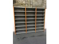 Dexion Impex Shelving with 8 shelves per bay. 3 Bays H-2500mm D-455mm L-3000mm £175.00 + vat
