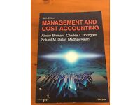 Management and Cost Accounting book