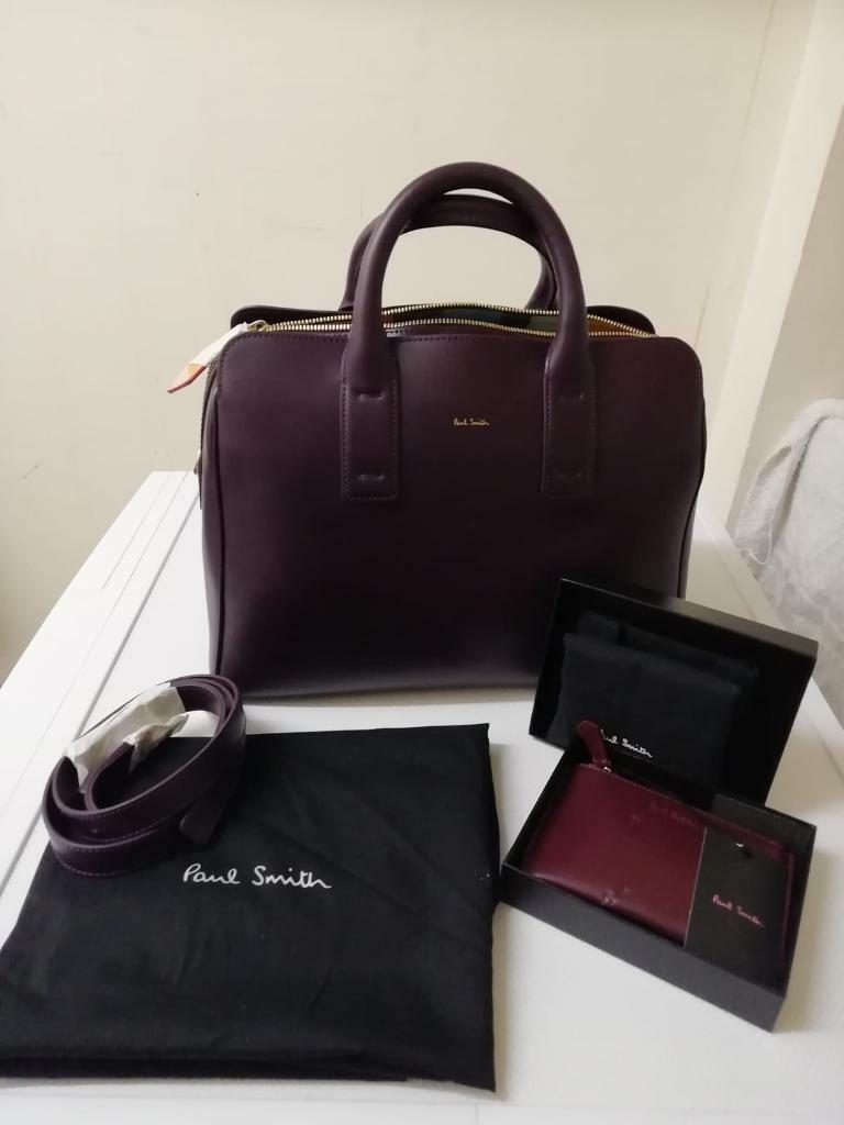 92f9b2dcd67a Genuine Paul Smith Tote Handbag with matching Coin Purse rrp £595 ...