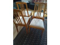 Dining 4 chairs