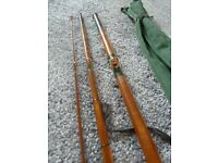 Vintage fishing rod ... B James and son of Ealing