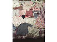 Next Baby Girls clothes, 100 items