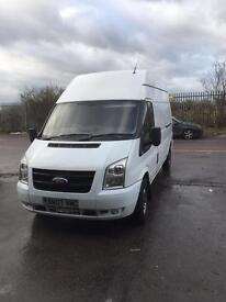 Ford transit 350 lwb hi top 2.4 100ps 2007 panel van