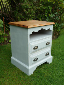 Solid pine side cabinet