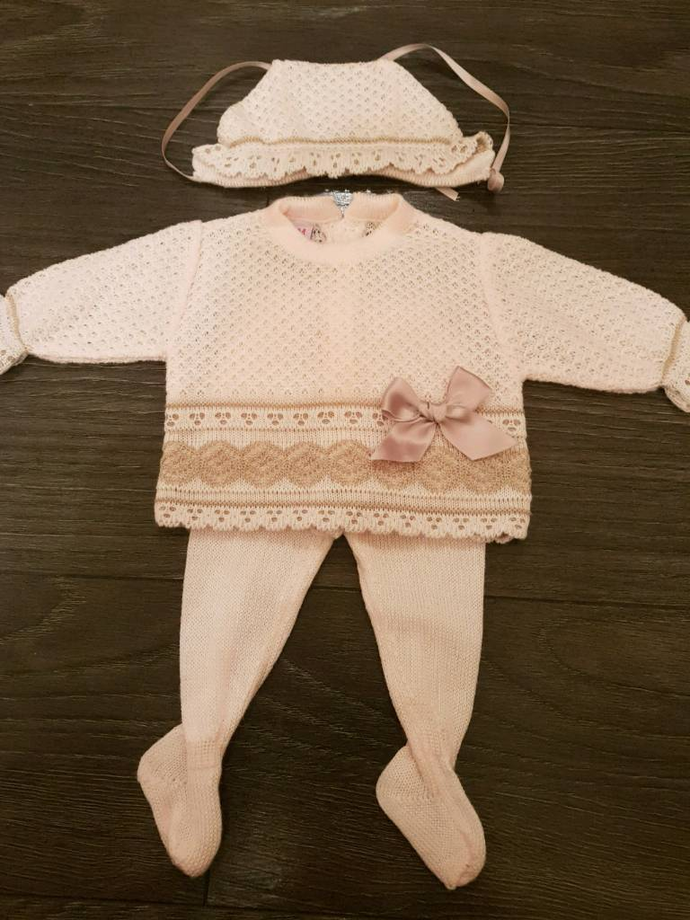 Knitted spanish set 0months