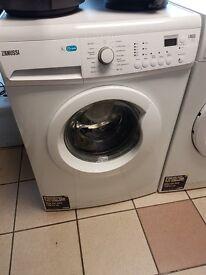 GRADED, ZANUSSI LINDO 100 7KG, 60cm Washing Machine, White ZWF71243W