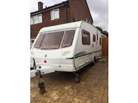 Abbey 4 berth 2004 19ft fixed bed