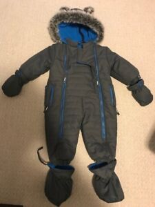 Boys 6-12 Month Snow Suite-Brand New Condition