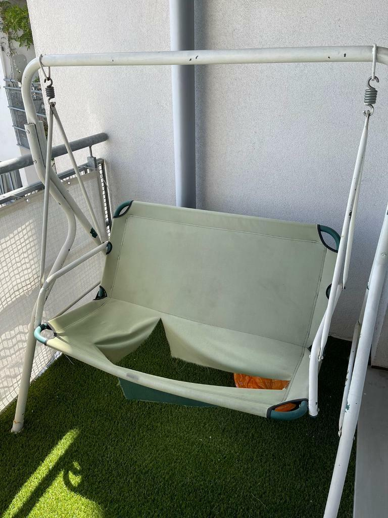 FREE Swing seat (fabric needs replacing, flat packed)