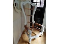 Throne chair solid hand carved