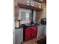 Rayburn Oil Fired Range Cooker in Excellent Condition