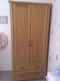 Oak Veneer Bedroom furniture set