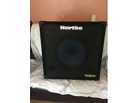 Hartke transporter bass cab 15inch with blue Ashdownspeaker, Excellent condition