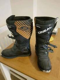 Oneal trials/motocross boots