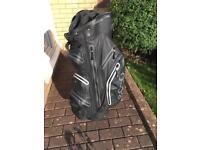 Ecco Black Golf Cart Bag