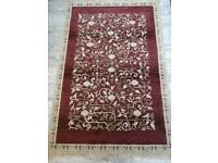 (SOLD) Red and Gold Rug 120 cm x 180 cm