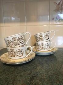 Coalport Allegro Cups and Saucers