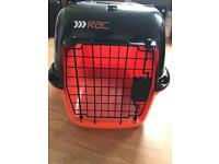 Large cat small dog carrier travel crate