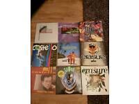 50 Vinyl Records, LP's 80's pop