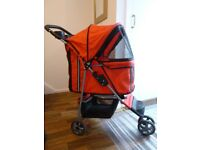 Red Dog Buggy/Pushchair