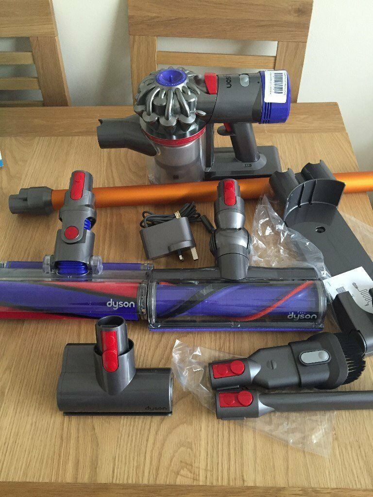 dyson sv10 v8 absolute cordless vacuum cleaner handheld cleaning home hoover in ilford london. Black Bedroom Furniture Sets. Home Design Ideas