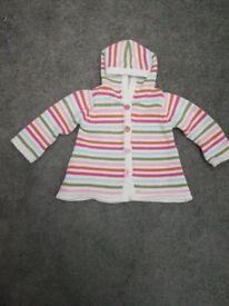 Girls Cardigan sweater with hood