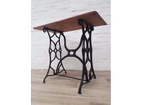 Cast Iron Console Table (DELIVERY AVAILABLE FOR THIS ITEM OF FURNITURE)