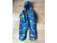 Boys snowsuit. Like new. Size 6-12 months.