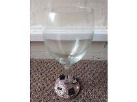 glamorous wineglass