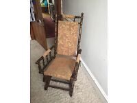 Tradional rocking chair