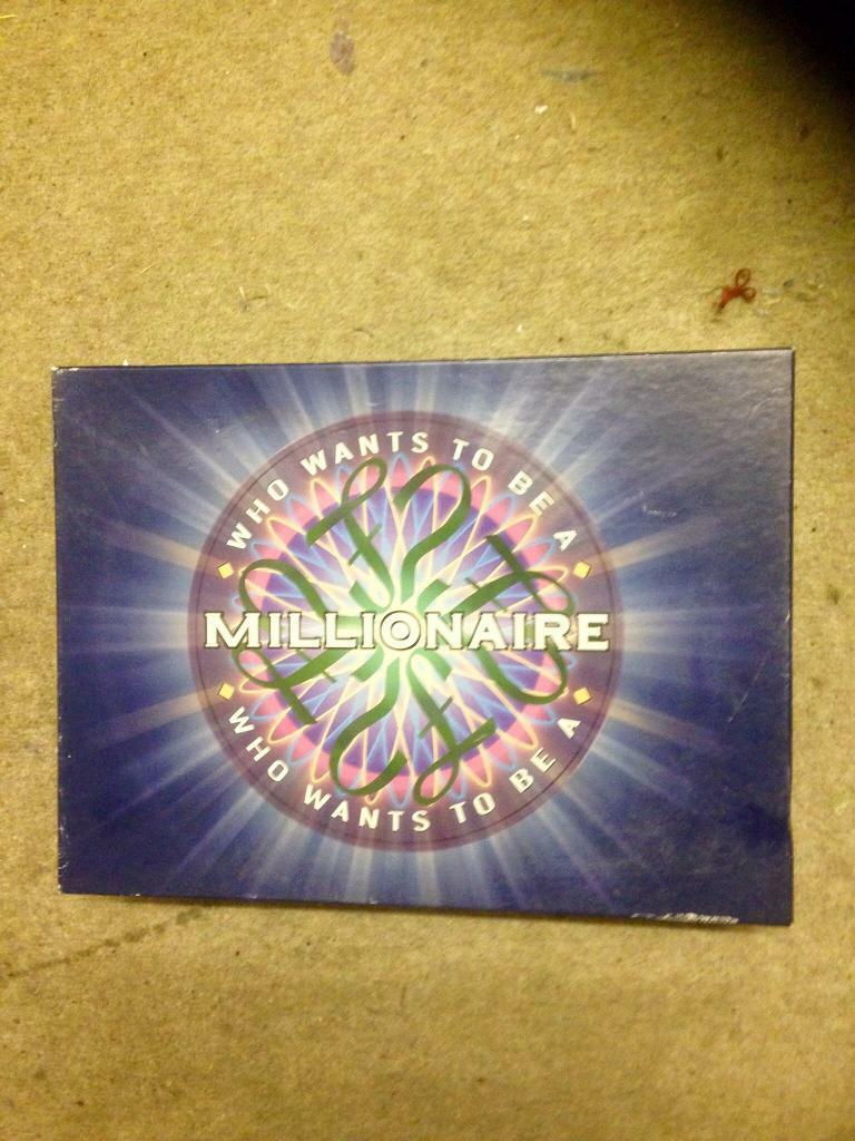 WHO WANTS TO BE A MILLIONAIRE BOARD GAME  COMPLETE AND VGC    in Poole,  Dorset   Gumtree