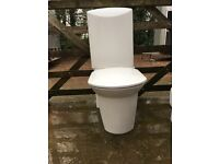 LAUFEN (Swiss made) MODERN WHITE TOILET WOTH SOFT CLOSE