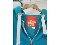 Superdry hoodie size 10