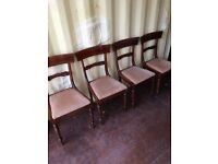 Set of 4 Antique/Vintage Dining Chairs