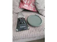 Roland FD 6 hi hat controller and PD 6 pad