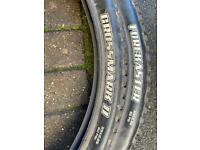 SOLD maxxis pair MTN tyres 29 x 2.35 & 2.25 tubed