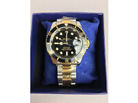 Rolex Submariner Bi Metal, Automatic Watch, Metal Strap *1st Class Postage Available*