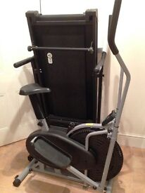 Motorised Treadmill & Cross Trainer.....Immaculate condition.